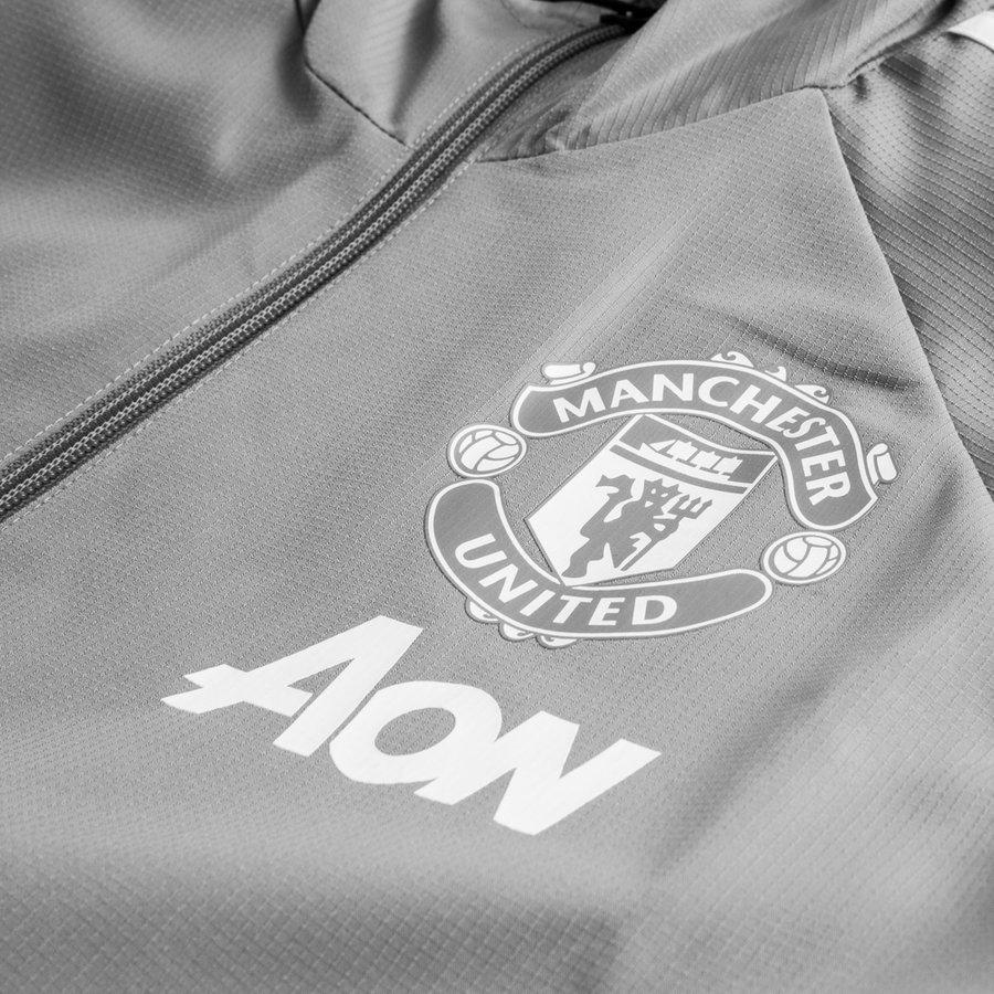 Manchester United Vinterjakke GråHvit