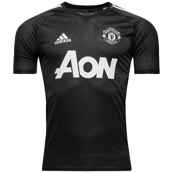 6deea030 Manchester United Trenings T-Skjorte - Grå/Hvit Barn | www ...