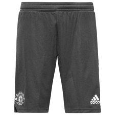 manchester united training shorts - grey/white - training shorts