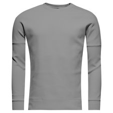 adidas sweatshirt z.n.e. crew ii - grey heather - sweatshirts