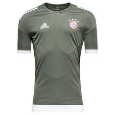 bayern münchen trænings t-shirt ucl - grå/hvid - træningstrøjer