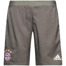 Image of   Bayern München Træningsshorts UCL - Grå/Hvid