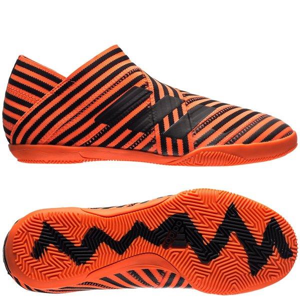 adidas Nemeziz Tango 17+ 360Agility IN Pyro Storm OrangeSchwarz Kinder