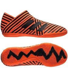 adidas Nemeziz Tango 17+ 360Agility IN Pyro Storm - Oranje/Zwart Kinderen