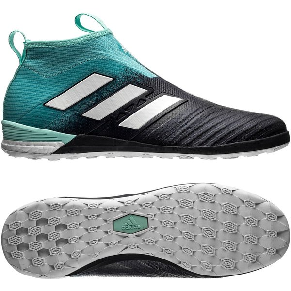 adidas ACE Tango 17+ PureControl Boost IN Ocean Storm TurkisHvitNavy