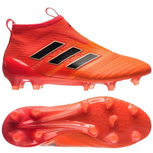 Adidas ACE 17 PureControl FG Fotballsko Orange Svart