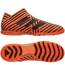 adidas nemeziz tango 17+ 360agility in pyro storm - orange/sort - indendørssko