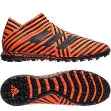adidas Nemeziz Tango 17+ 360Agility TF Pyro Storm - Oranje/Zwart