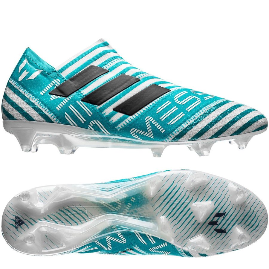 12054208748afd adidas nemeziz messi 17+ 360agility fg ag - footwear white legend ink  ...