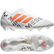 adidas Nemeziz Messi 17+ 360Agility FG/AG - Wit/Oranje/Grijs