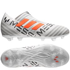 adidas Nemeziz Messi 17+ 360Agility FG/AG - Wit/Oranje/Grijs Kinderen