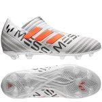 adidas Nemeziz Messi 17+ 360Agility FG/AG - Hvit/Oransje/Grå Barn