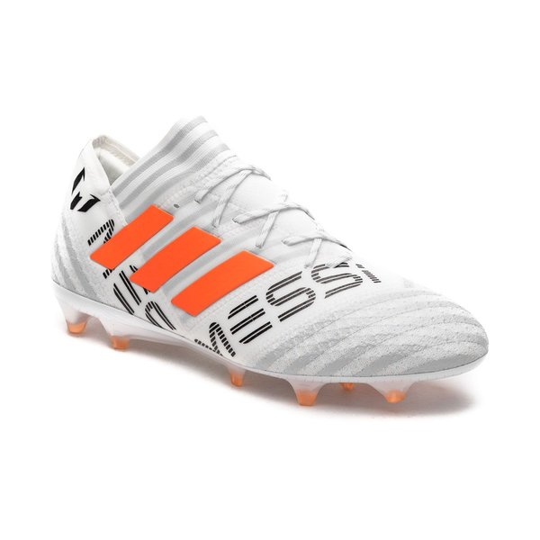 bc244c31f adidas Nemeziz Messi 17.1 FG AG - Footwear White Solar Orange Clear Grey