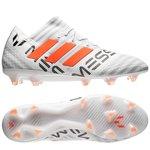 adidas Nemeziz Messi 17.1 FG/AG - Blanc/Orange/Gris