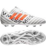 adidas Nemeziz Messi 17.1 FG/AG - Blanc/Orange/Gris Enfant
