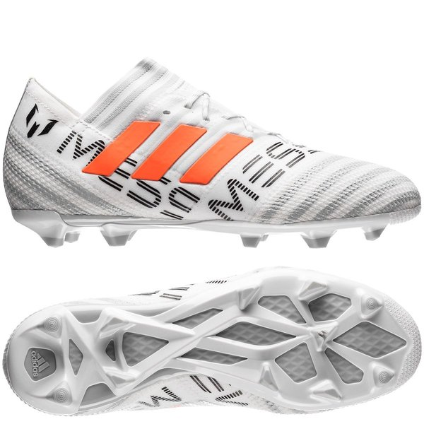 7cc265ace 150.00 EUR. Price is incl. 19% VAT. -75%. adidas Nemeziz Messi 17.1 FG AG - Footwear  White Solar Orange Clear Grey