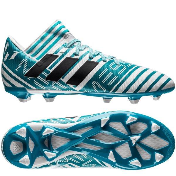 the best attitude 241fd 328de adidas nemeziz messi 17.3 fg ag - footwear white legend ink energy blue ...