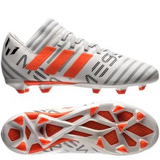 adidas Nemeziz Messi 17.3 FG/AG - Vit/Orange/Grå Barn