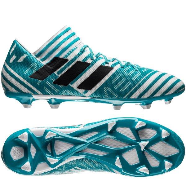 adidas Nemeziz Messi FG AG Blanc Bleu Marine Bleu www