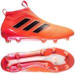 adidas ACE 17+ PureControl FG/AG Pyro Storm - Orange/Schwarz/Rot