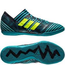 adidas Nemeziz Tango 17.3 IN Ocean Storm - Navy/Geel/Blauw Kinderen