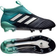 adidas ACE 17+ PureControl FG/AG Ocean Storm - Turkis/Hvid/Navy