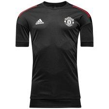 Manchester United Tränings T-Shirt UCL - Svart/Röd Barn