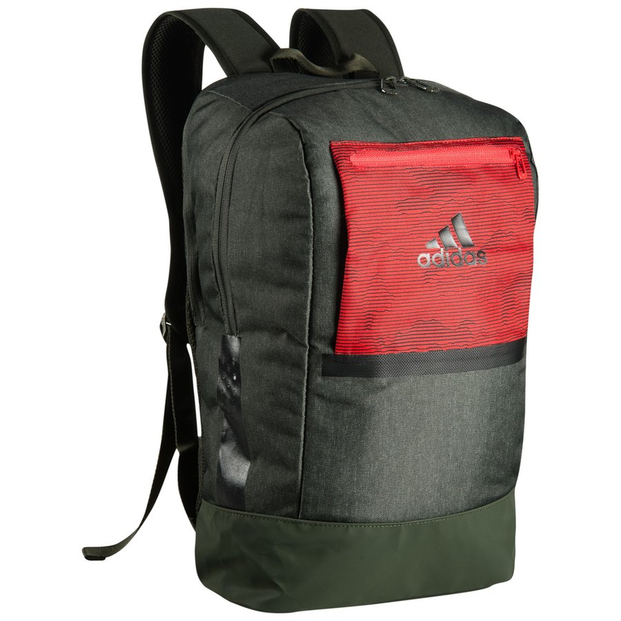 adidas sac dos icon 17 2 pyro storm vert rouge. Black Bedroom Furniture Sets. Home Design Ideas