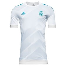 real madrid training t-shirt pre-match - white/blue - training tops