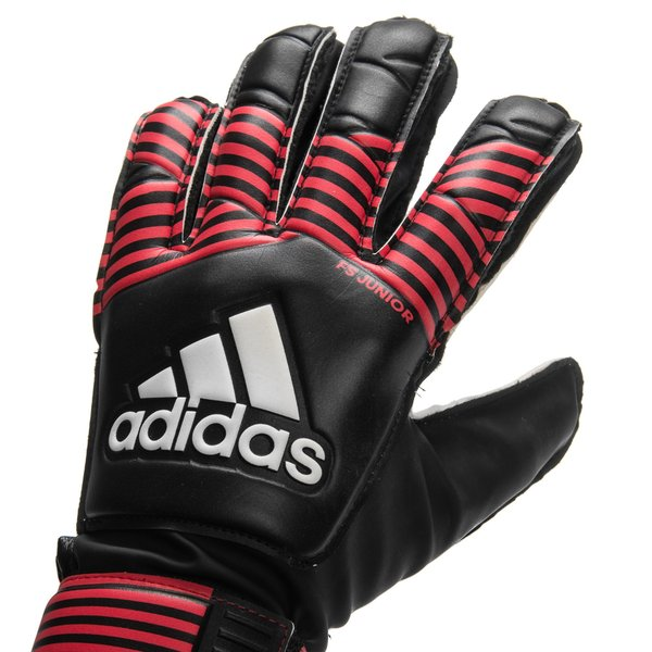 brand new d39e8 744e1 adidas Goalkeeper Gloves ACE Fingersave Junior - Black/Red ...
