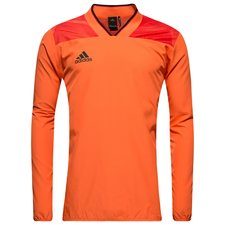 adidas training shirt tango woven pyro storm - semi solar orange - training tops