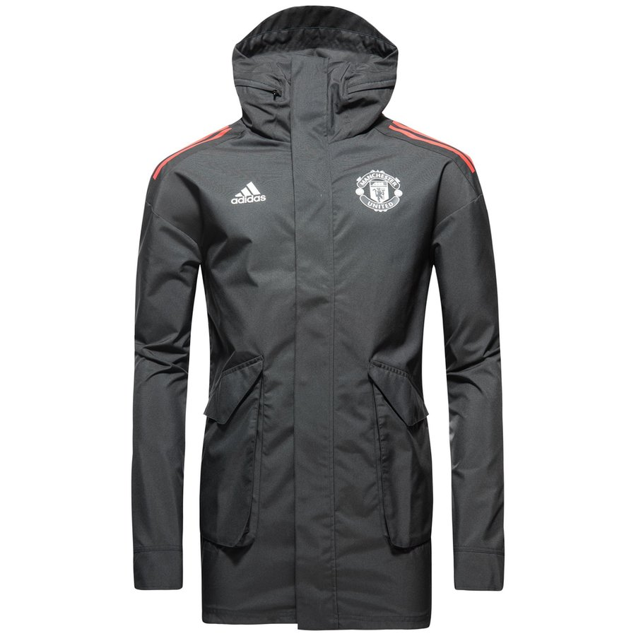 Manchester United Jacka All Weather UCL SvartRöd