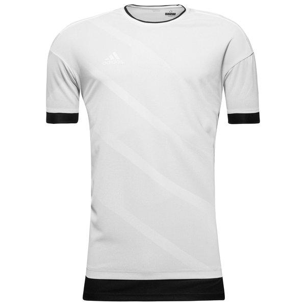 adidas trænings t-shirt tango - hvid/grå - t-shirts
