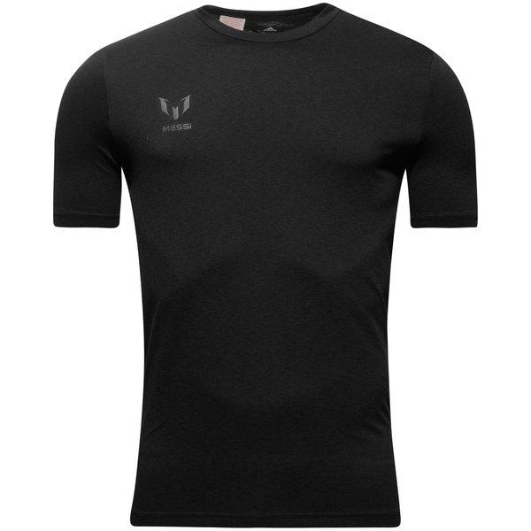 adidas trænings t-shirt messi - sort børn - t-shirts