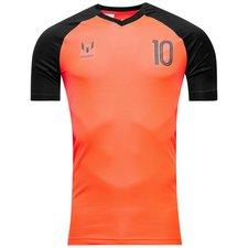 Image of   adidas Trænings T-Shirt Messi Icon Pyro Storm - Orange/Sort Børn