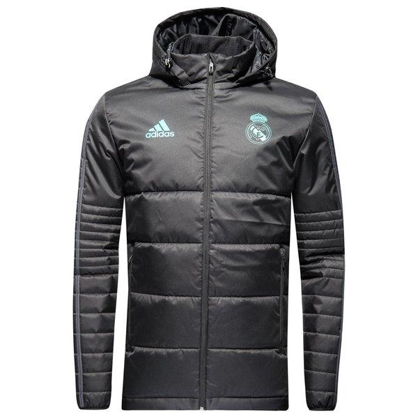 real madrid vinterjakke - sort/grøn børn - jakker