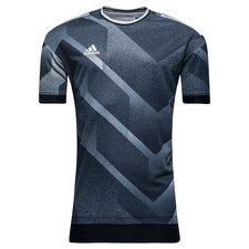 adidas trænings t-shirt tango - navy/grå - t-shirts