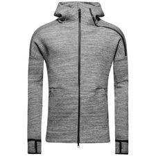 adidas hoodie z.n.e. storm heather - grau - hoodies
