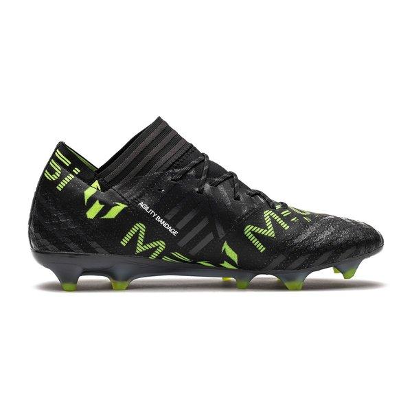 5e133c71a9bf ... adidas nemeziz messi 17.1 fg ag sort hvid gul fodboldstøvler