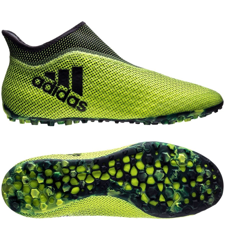 adidas x tango 17+ purespeed tf ocean storm - solar yellowlegend ink -