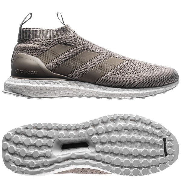 separation shoes f5f83 3021d adidas ACE 16+ PureControl Ultra Boost Earth Storm - Bruin Grijs LIMITED  EDITION 0