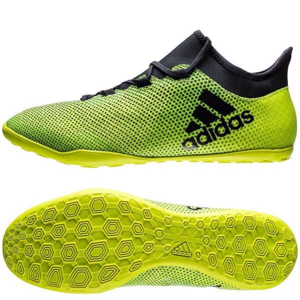 22091edc358 adidas X Tango 17.3 IN Ocean Storm - Solar Yellow Legend Ink