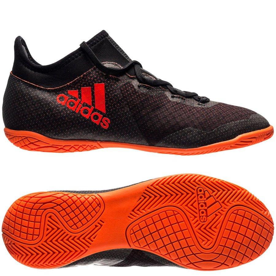 adidas x tango 17.3 in pyro storm - svart röd orange barn - inomhusskor ... 2549cac82cced
