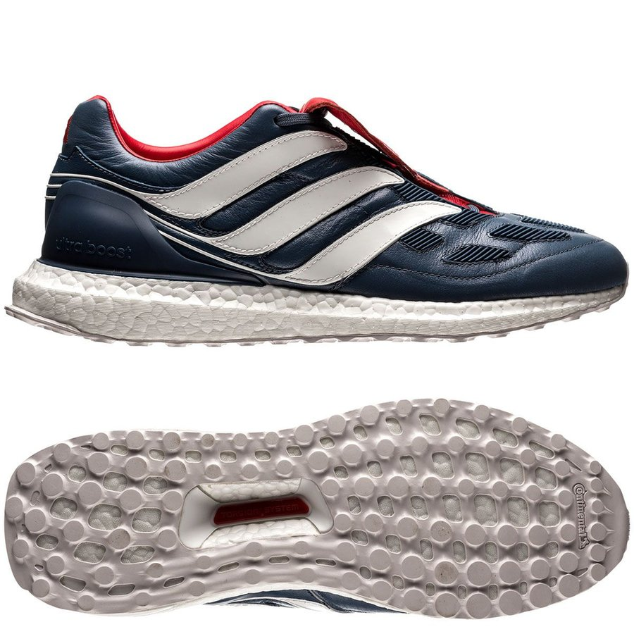 adidas predator precision ultra boost - blå vit röd limited edition -  sneakers ... c726731291c43