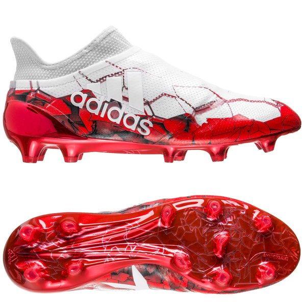 new style 84d68 6fbe4 adidas X 16+ PureSpeed FG/AG Confed Cup - Footwear White/Solar Red ...