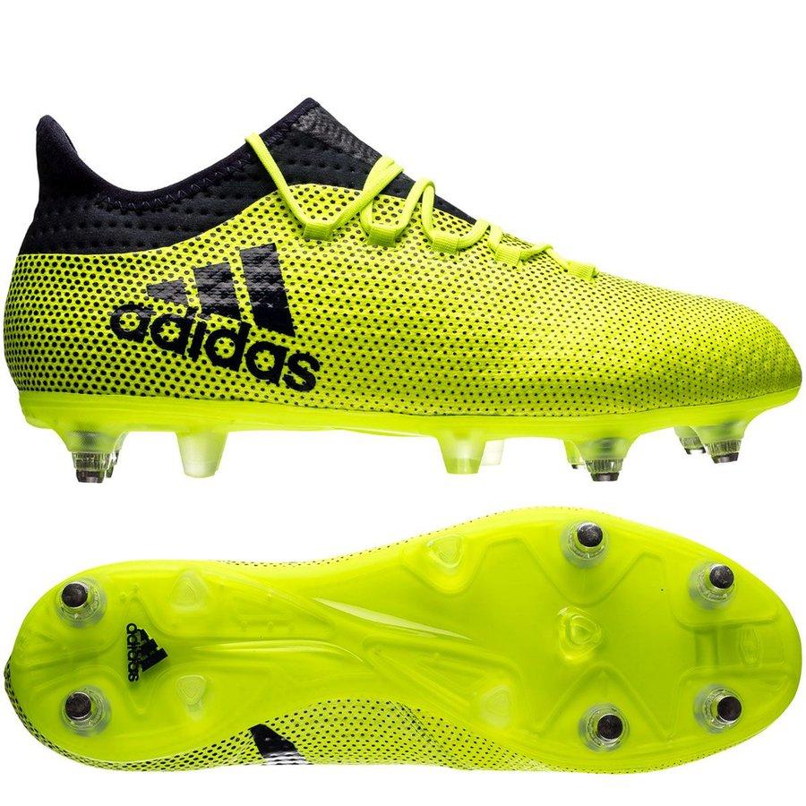 adidas x 17.2 sg ocean storm - solar yellow legend ink - football boots ... f13bb21f8e