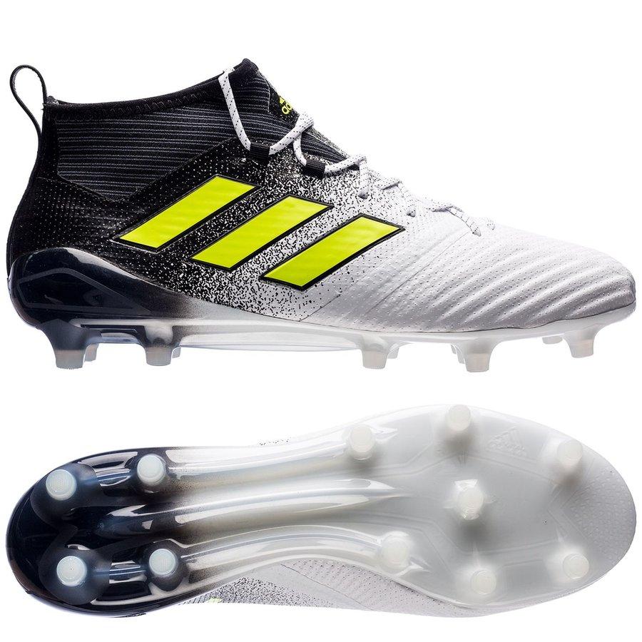 adidas ace 17.1 primeknit fg ag dust storm - footwear white solar yellow   ... 2263c4887a23
