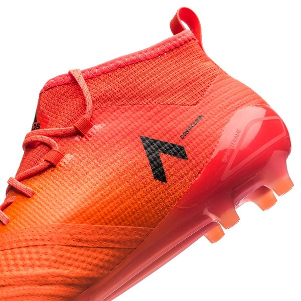 adidas ACE 17.1 Primeknit FG/AG Pyro Storm - Solar Orange/Core Black ...