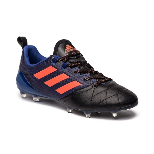 huge selection of 6235e 67140 adidas ACE 17.1 Läder FG/AG Dust Storm - Navy/Orange/Svart ...
