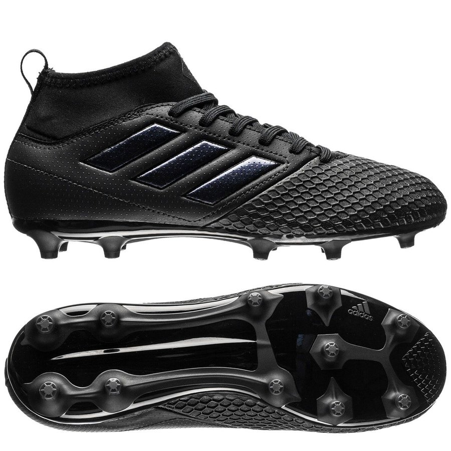 7216677f5307 adidas ace 17.3 primemesh fg ag magnetic storm - core black kids - football  boots ...